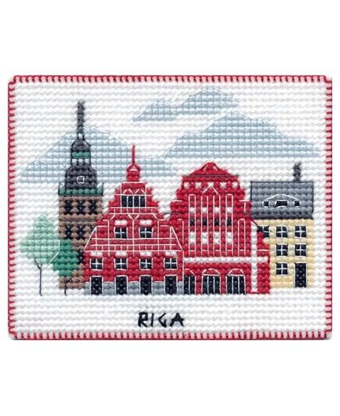 Magnet. Riga S1067