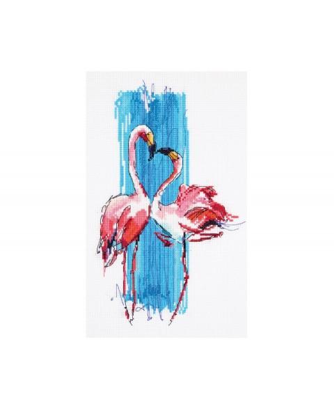 PT-7014 Pink Flamingos