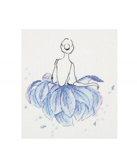 C-1949 Lotus Flower Ballerina
