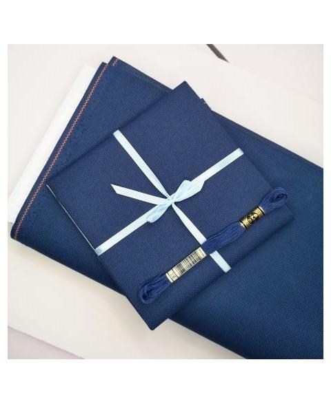 Navy Blue, Aida 18 ct 3793-589