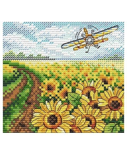 Sea Of Sunflowers SM-519