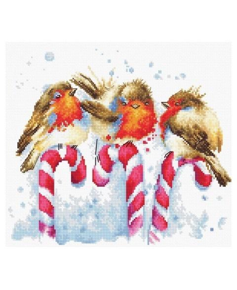 Christmas Birds SB1154