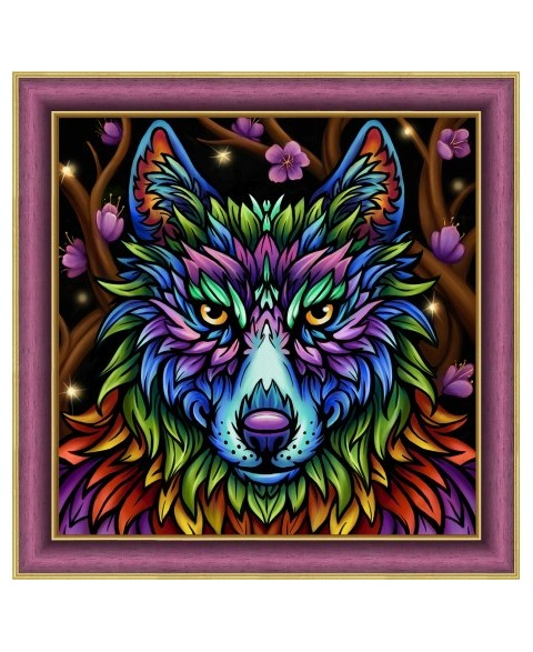 Rainbow Wolf AZ-1754