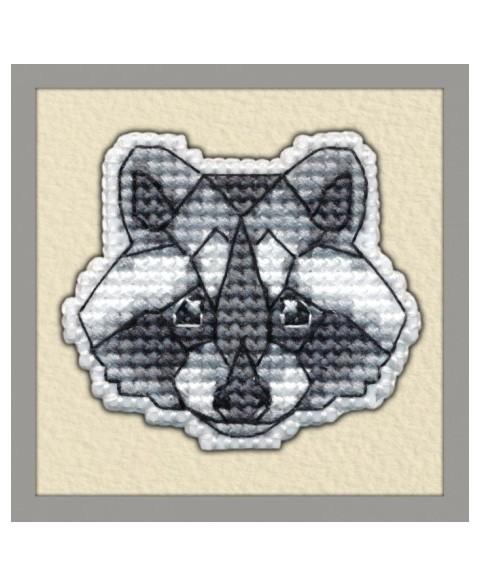 Badge Raccoon S1094