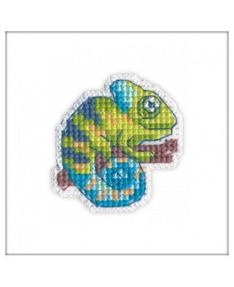 Badge Chameleon S1215