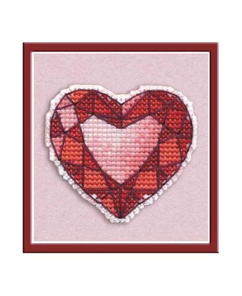 Badge Heart S1173