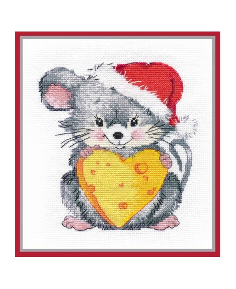 Mouse With Cheese S1246